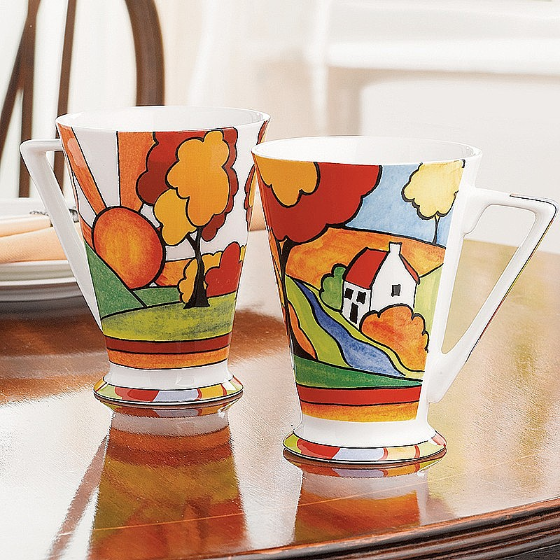 Buy Set Of 2 Art Deco Mugs From Museum Selection