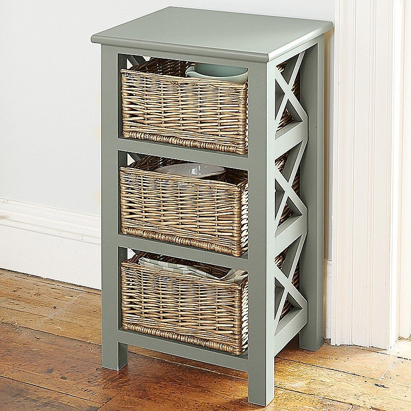 buy wicker storage unit from museum selection. Black Bedroom Furniture Sets. Home Design Ideas