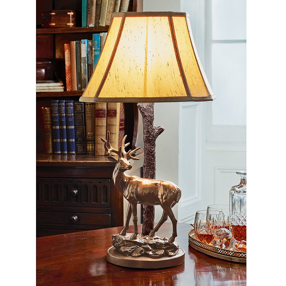 Buy Stag Lamp from Museum Selection : 14997 from www.museumselection.co.uk size 800 x 800 jpeg 141kB