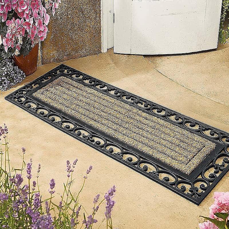 Buy French Door Double Doormat From Museum Selection