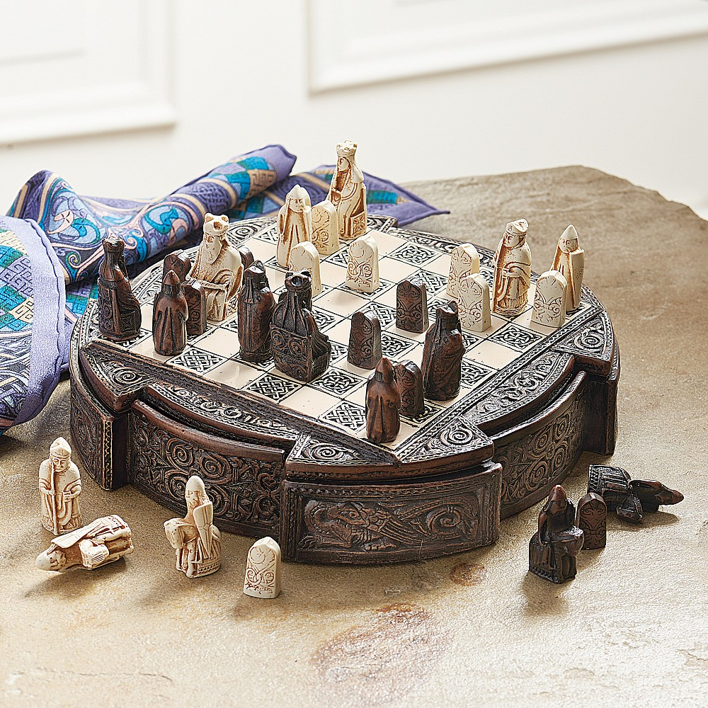 Buy isle of lewis chess set from museum selection - Lewis chessmen set ...