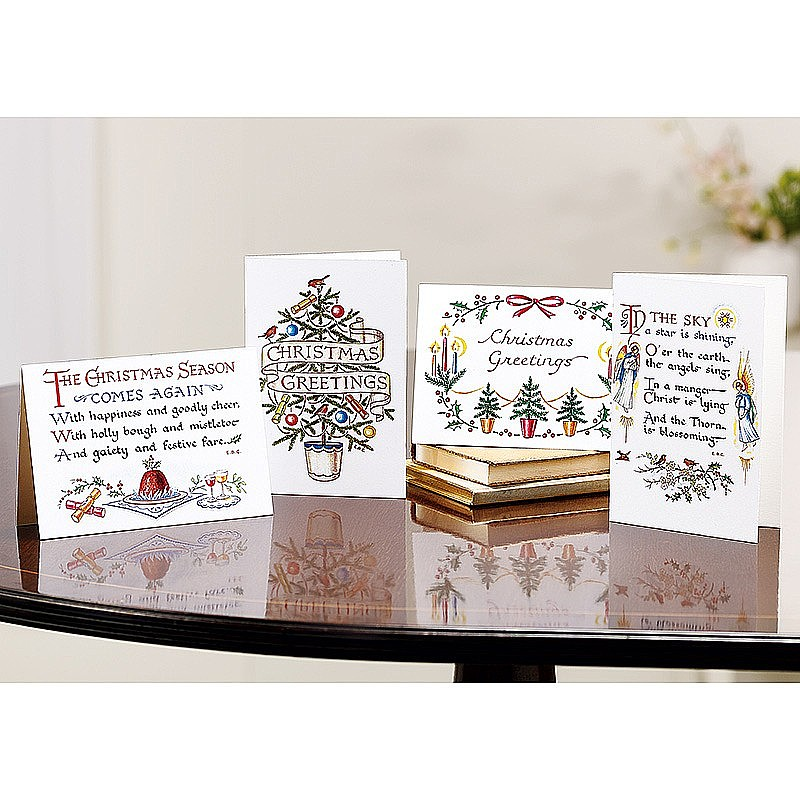 Buy christmas calligraphy cards from museum selection