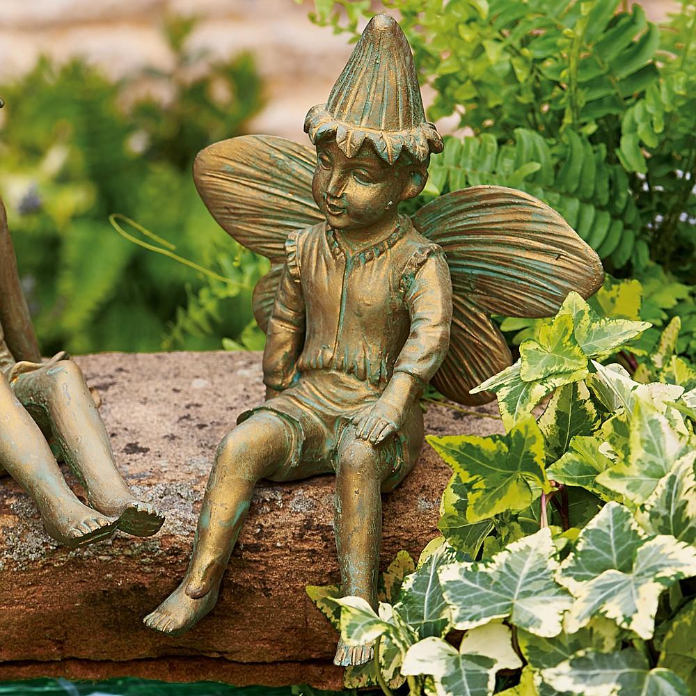 Garden Statue Fairy: Buy Fairy Boy Garden Statue From Museum Selection