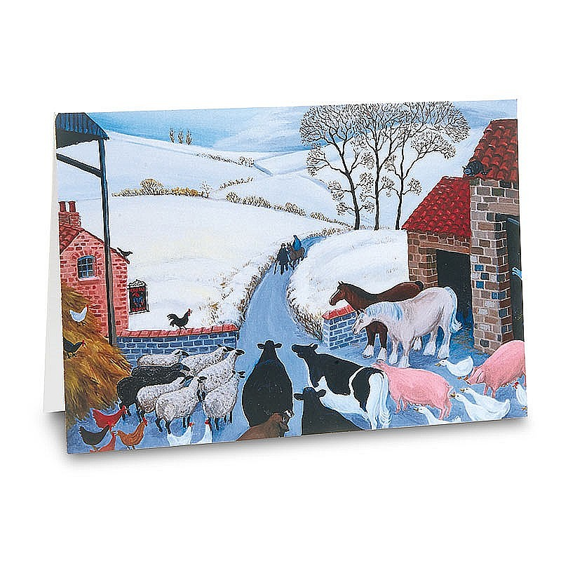 Buy Loxton No Room at the Inn Christmas Cards from Museum Selection.