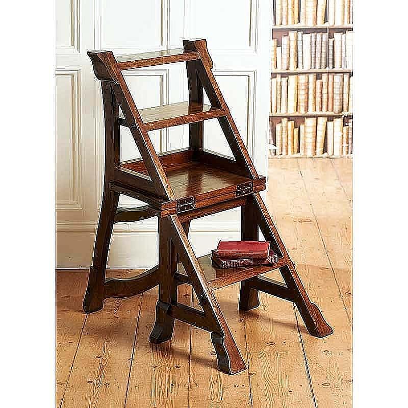 Enjoyable Library Step Chair Beatyapartments Chair Design Images Beatyapartmentscom