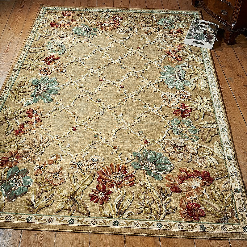 Royal Border Oriental Rug By Rug Culture: Buy Botanical Border Rug From Museum Selection