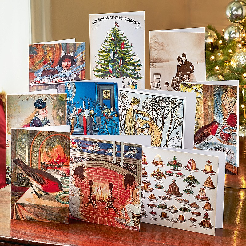 Boston Christmas Tree Delivery: Buy British Library Christmas Cards From Museum Selection