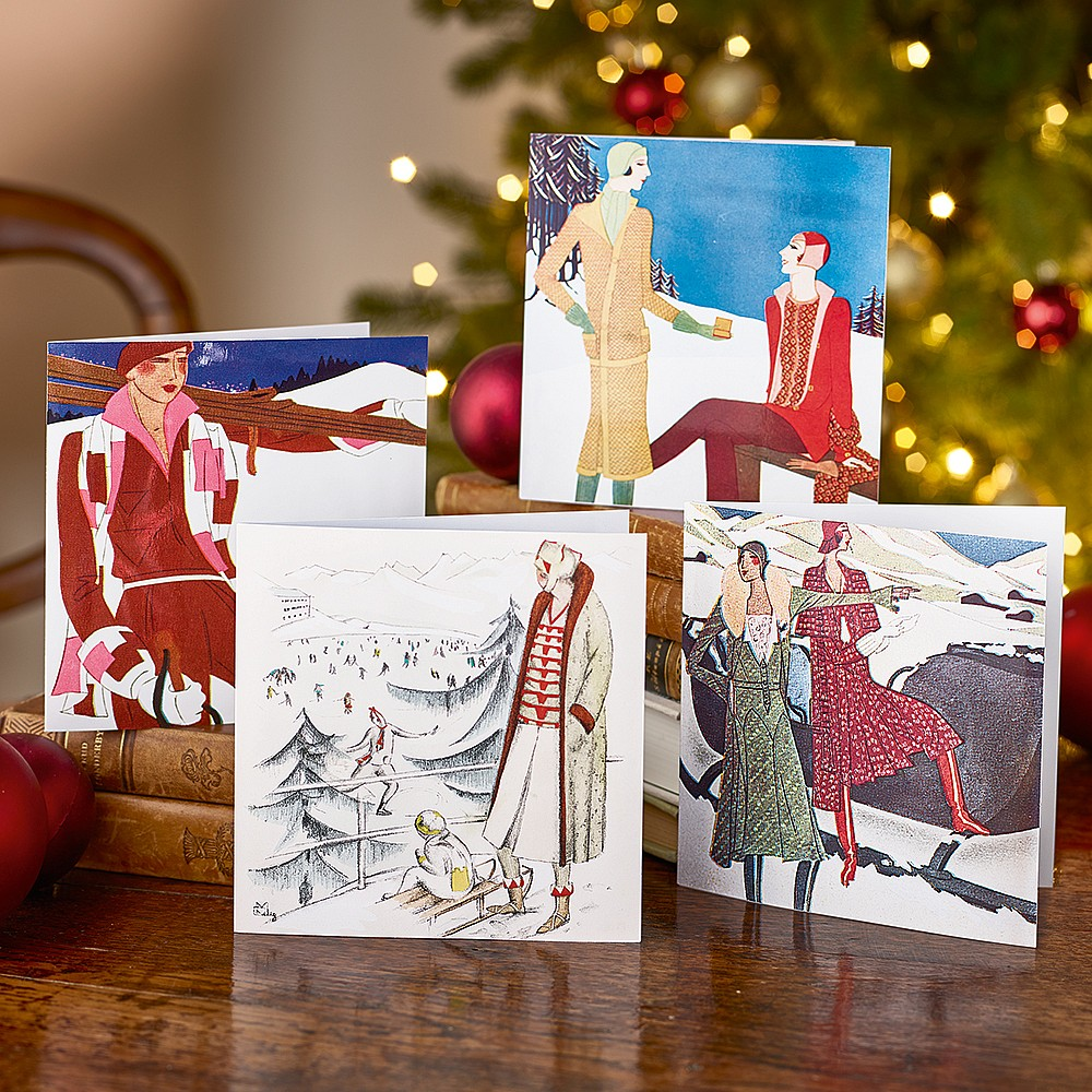 Deco Winter Style Cards | Christmas Cards & Wrap | Museum Selection