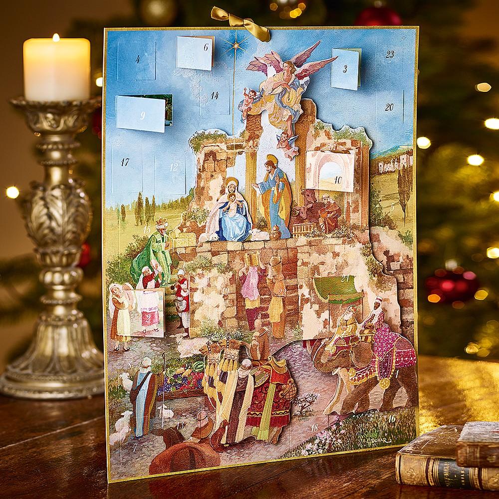 Nativity Scene Advent Calendar Calendars Diaries Museum Selection