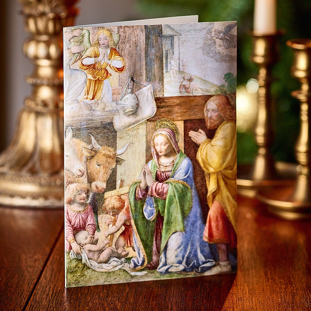 Nativity Fresco Cards | Christmas Cards & Wrap | Museum Selection