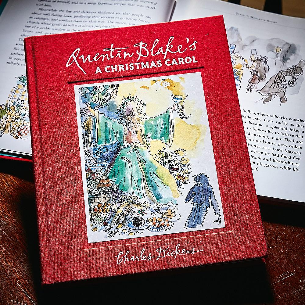 The Christmas Carol Book.Quentin Blake S A Christmas Carol