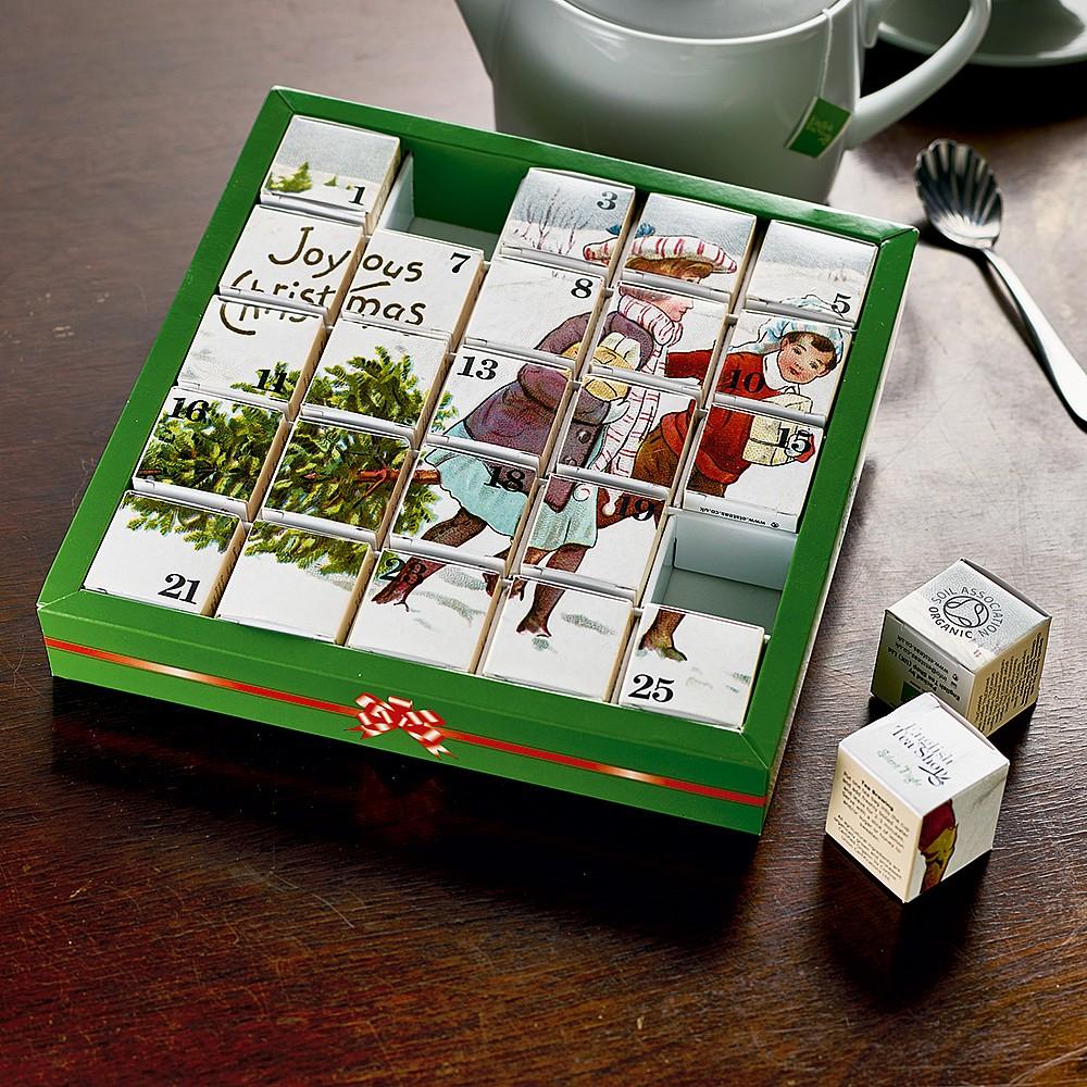 Organic Tea Advent Calendar Calendars Diaries Museum Selection