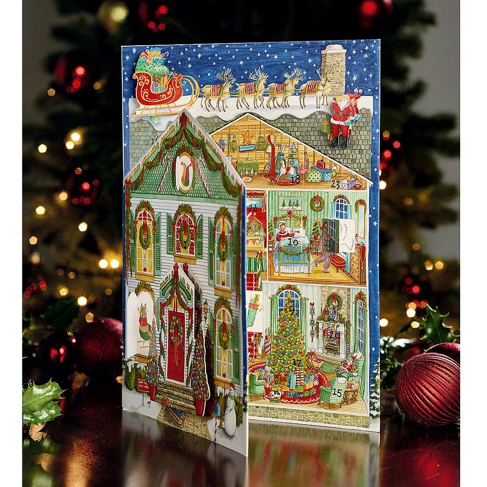 Christmas Advent Calendar.Home For Christmas Advent Calendar