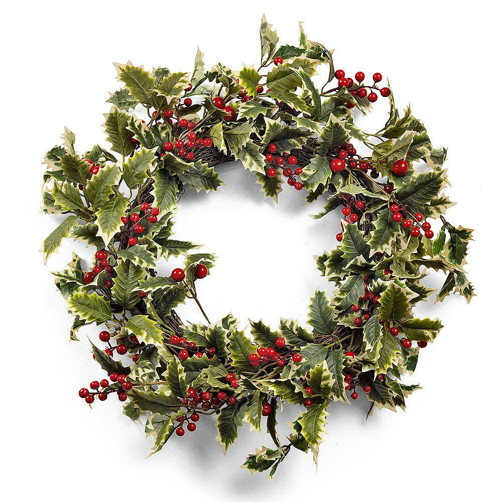 Holly Wreath Traditional Christmas Wreaths Museum Selection