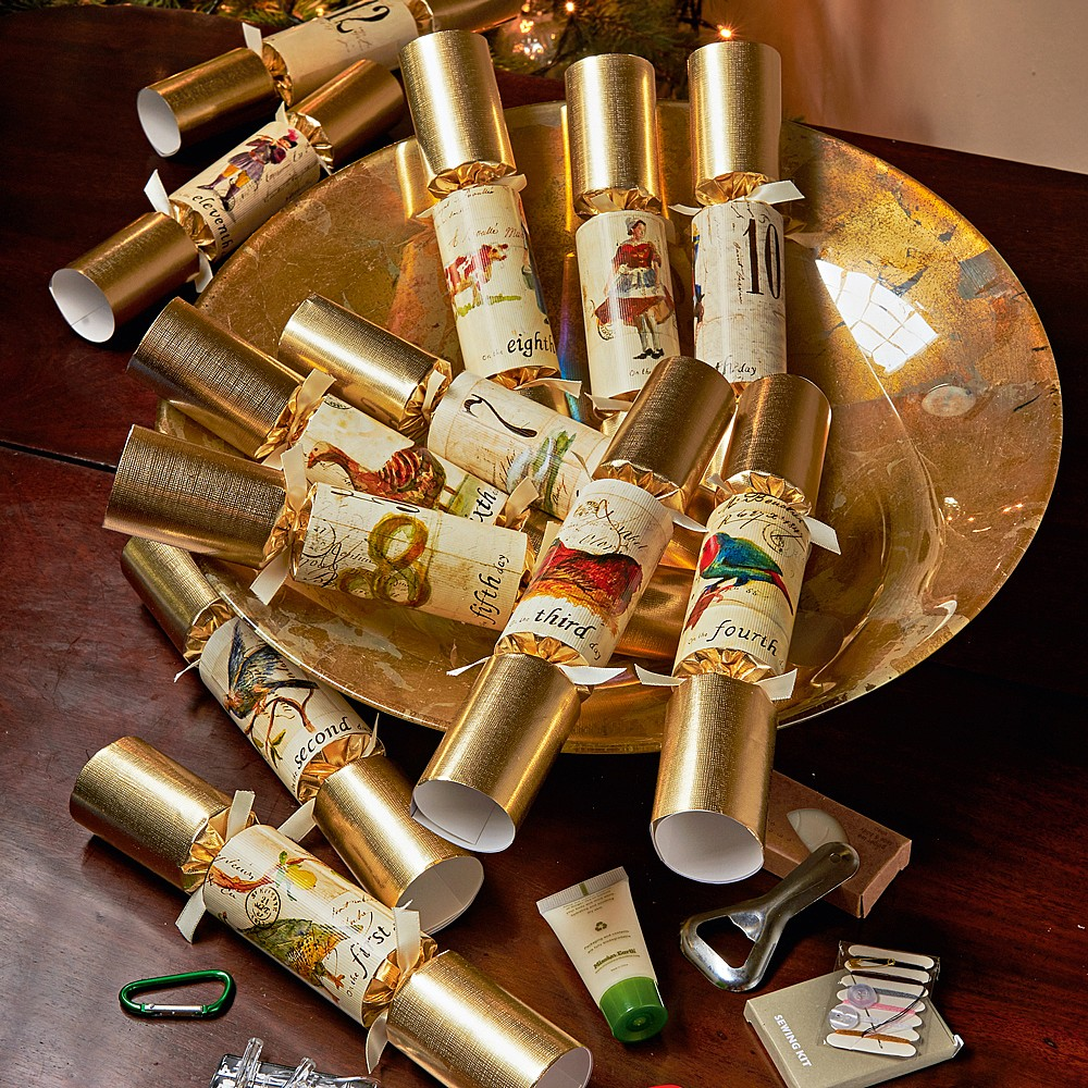 Image of 12 Days of Christmas Crackers