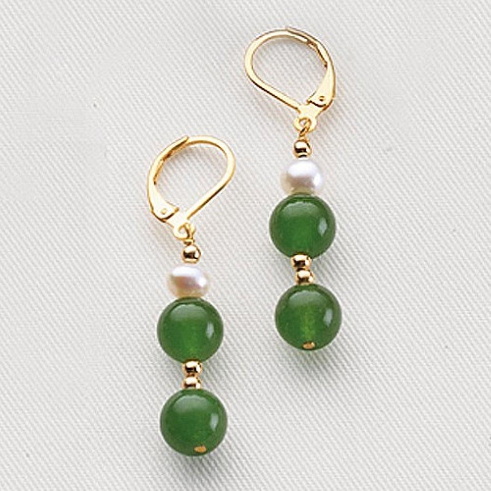 Noble Jade Earrings