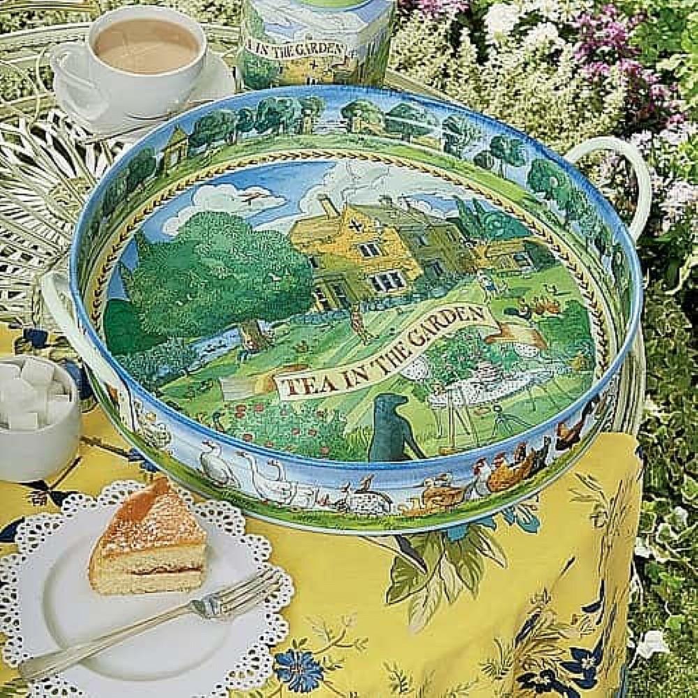 Tea in the Garden Tray