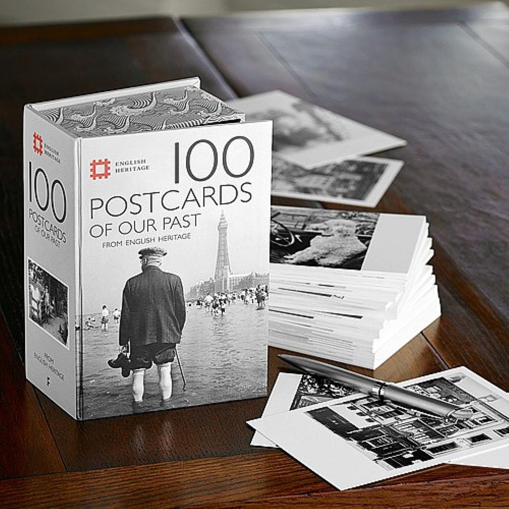 Image of 100 Heritage Postcards Box