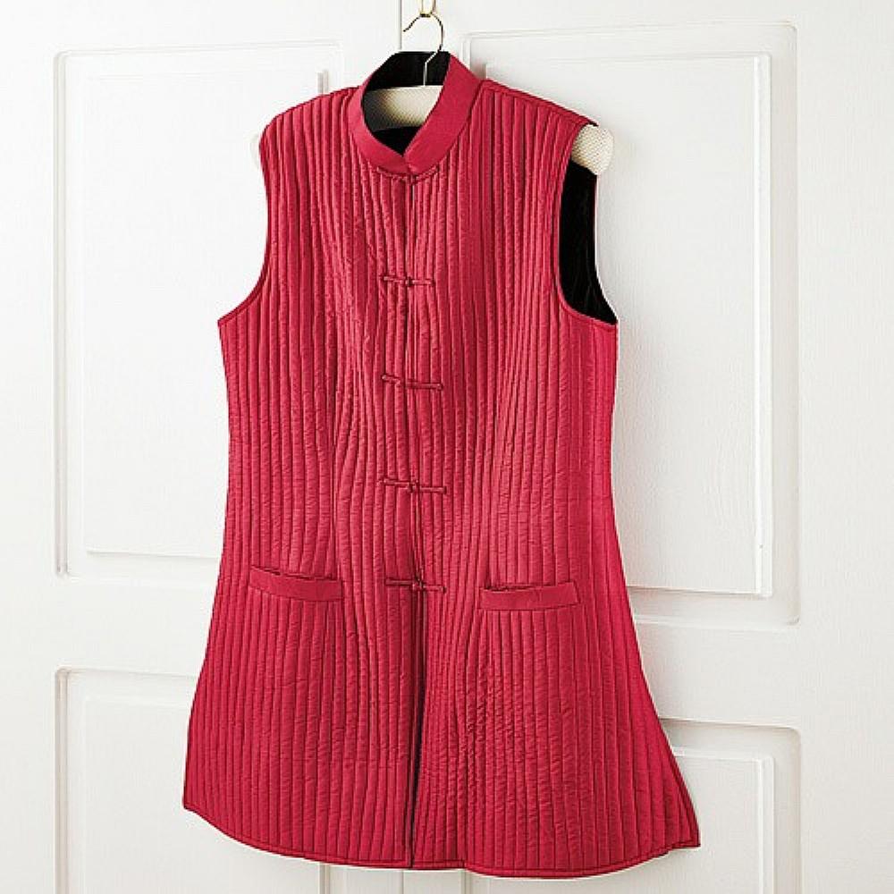Reversible Silk Waistcoat