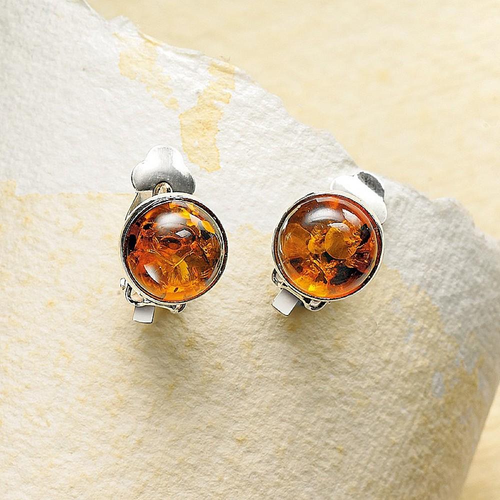 Amber Clip&shyon Earrings