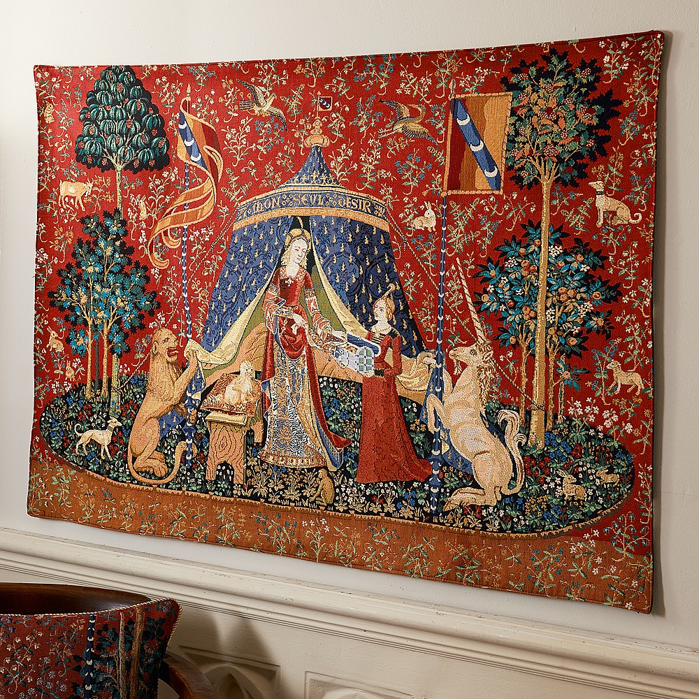 Image of A Mon Seul Desir Tapestry