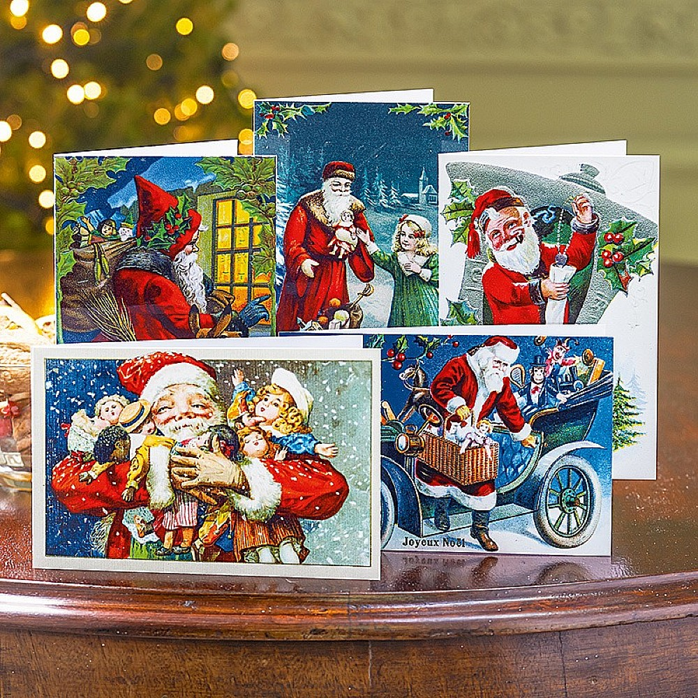 Image of 20 Father Christmas Cards