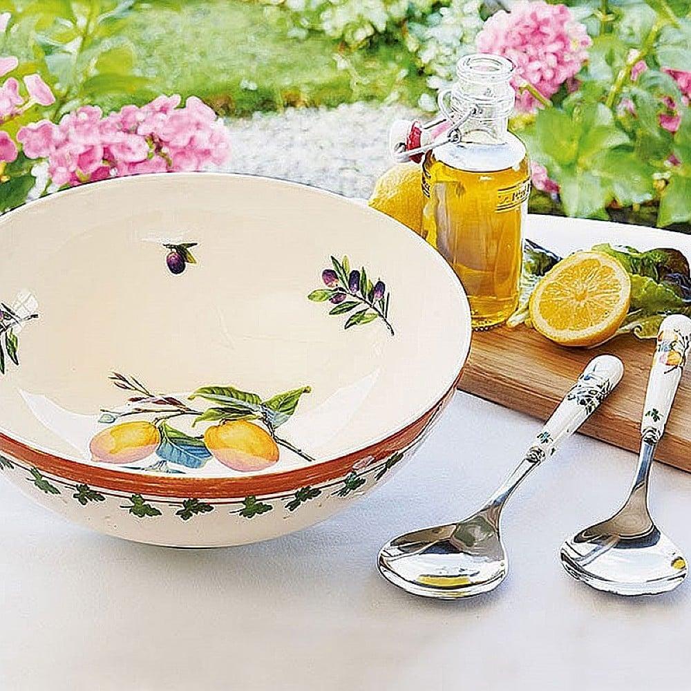 Alfresco Pomona Salad Bowl and Servers