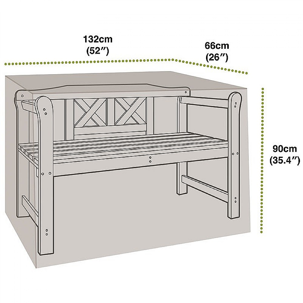 Image of 2 Seat Bench Cover
