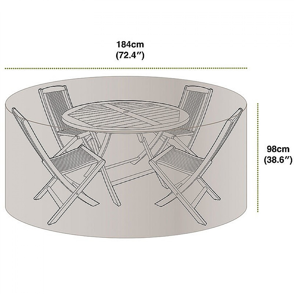 Image of 4 Seat Patio Set Cover