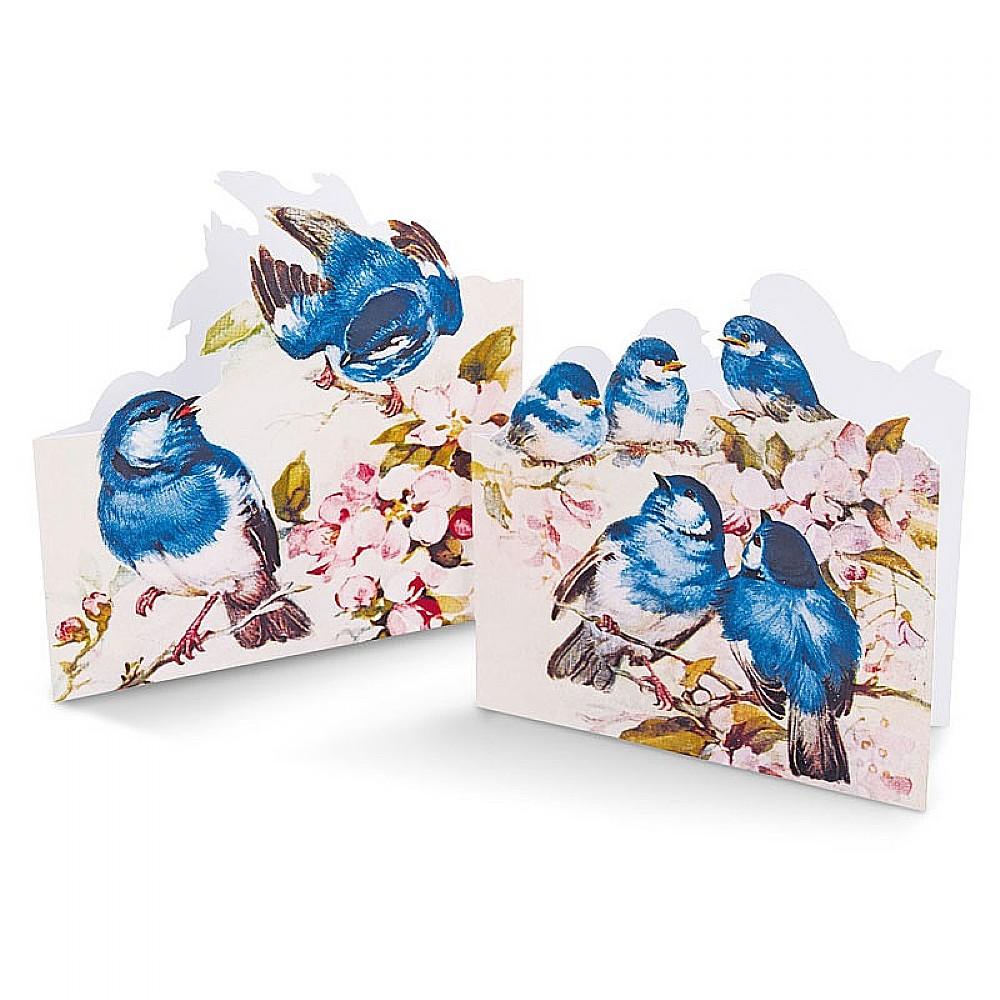 Image of 12 Bluebirds & Blossom Cards