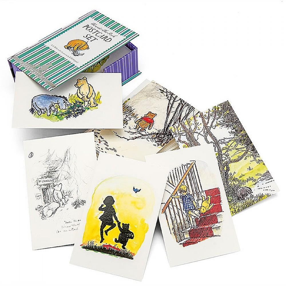 Image of 100 WinniethePooh Postcards
