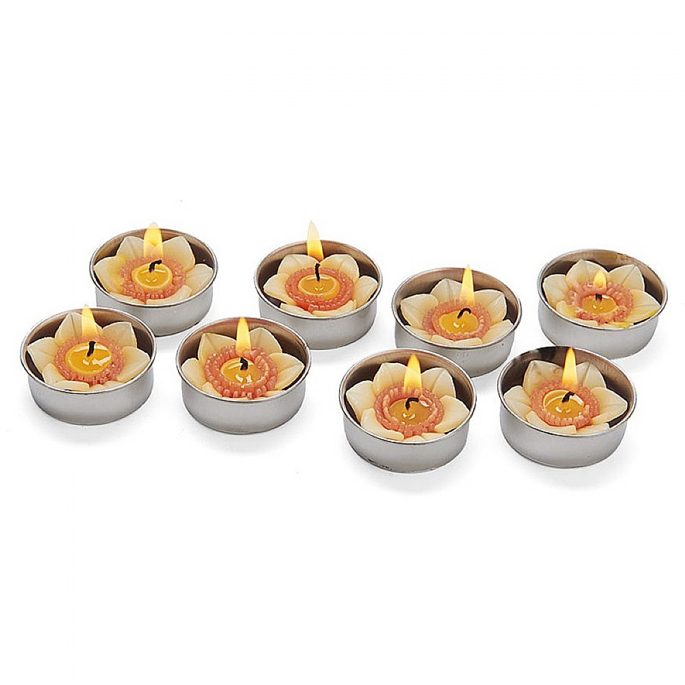 Image of 8 Scented Daffodil Tealights