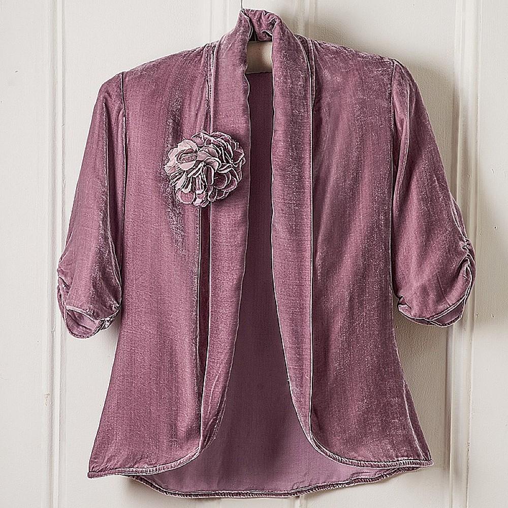 1930s Orchid Velvet Jacket