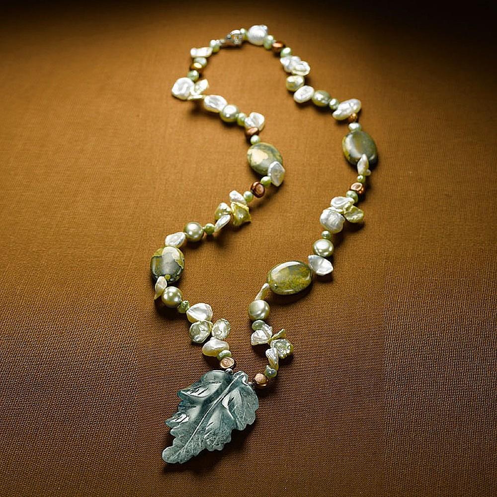Woodland Semi&shyprecious Necklace