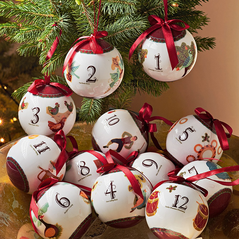 Image of 12 Days of Christmas Baubles