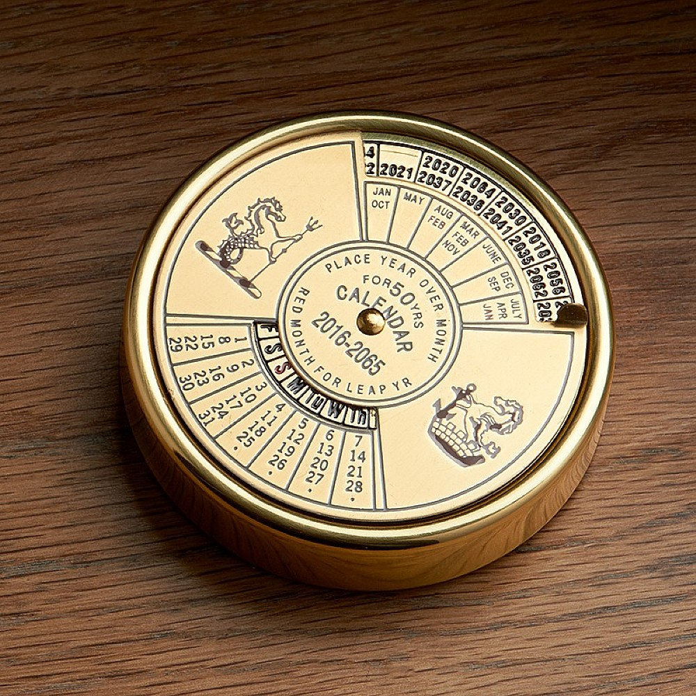 Image of 50 Year Calendar Paperweight