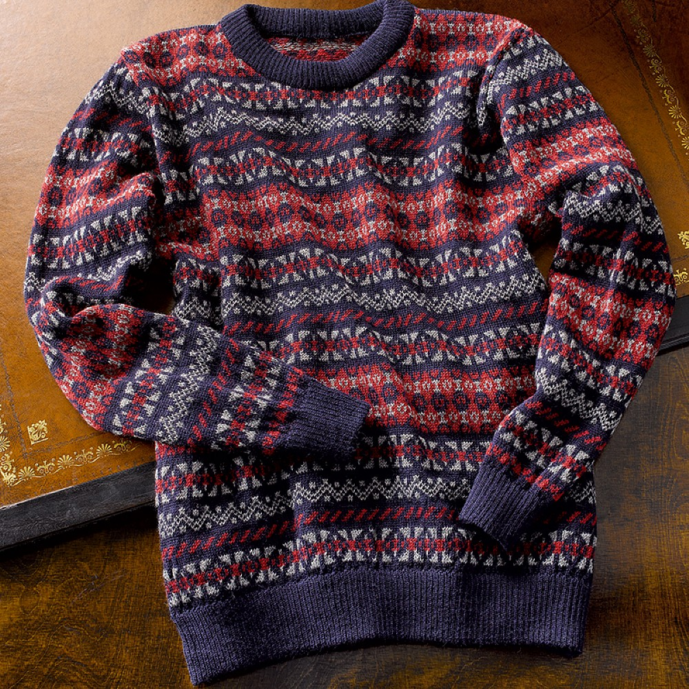 Buy Sumburgh Fairisle Wool Jumper from Museum Selection.
