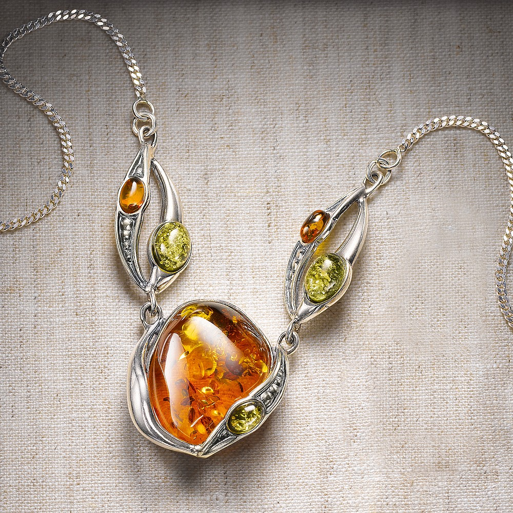 arts crafts amber necklace necklaces pendants museum selection