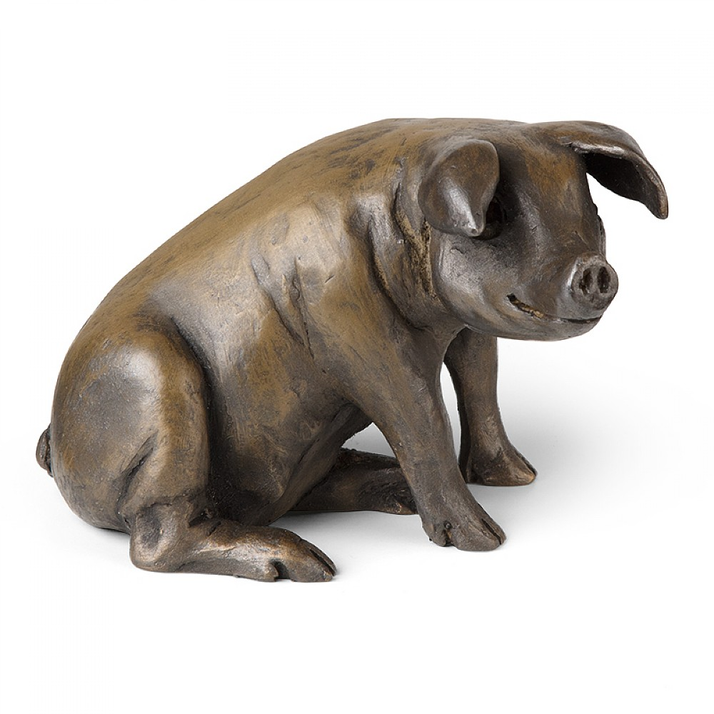 Image of Animalier Pig Sculpture