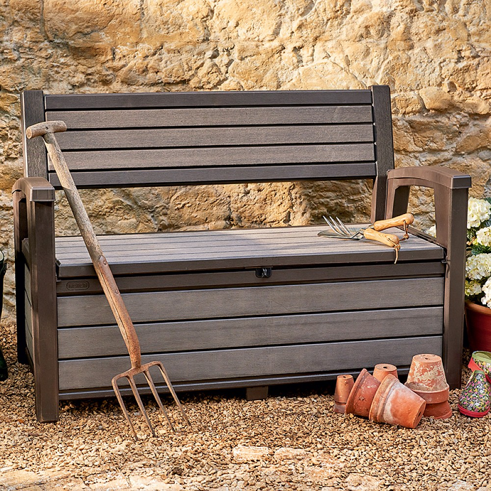 Image of 2 Seat Storage Bench