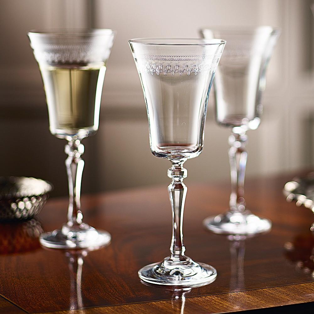 Image of 6 Georgian Wine Glasses