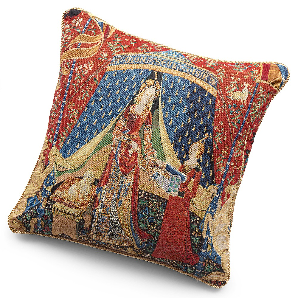 Image of A Mon Seul Desir Tapestry Cushion