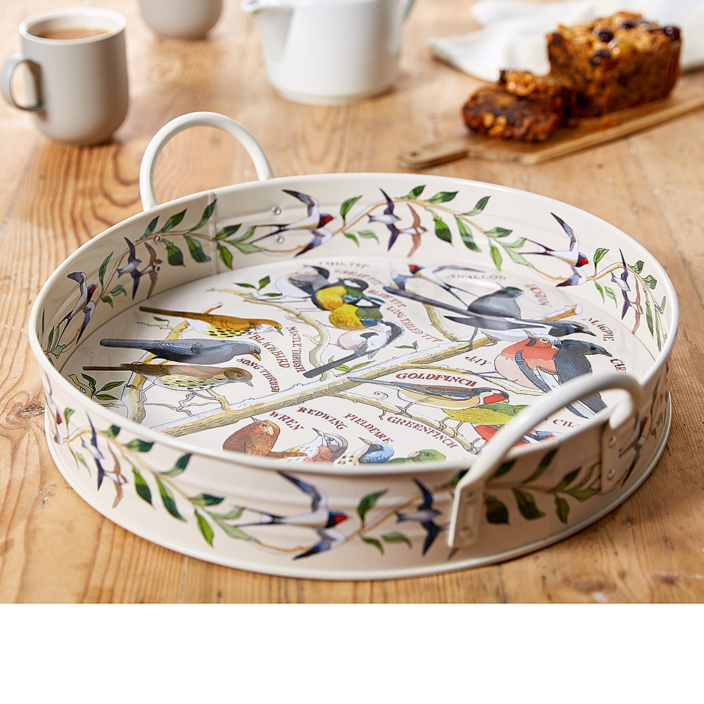 Bird in the Hand Tin Tray