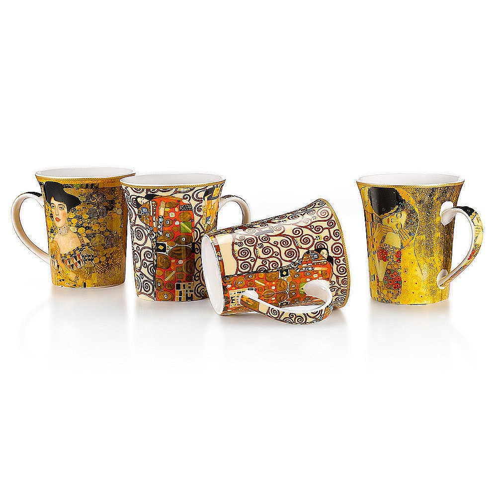 Klimt China Mug Quartet
