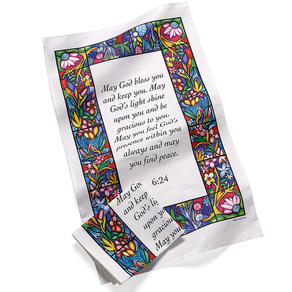 Pair of Blessing Tea Towels