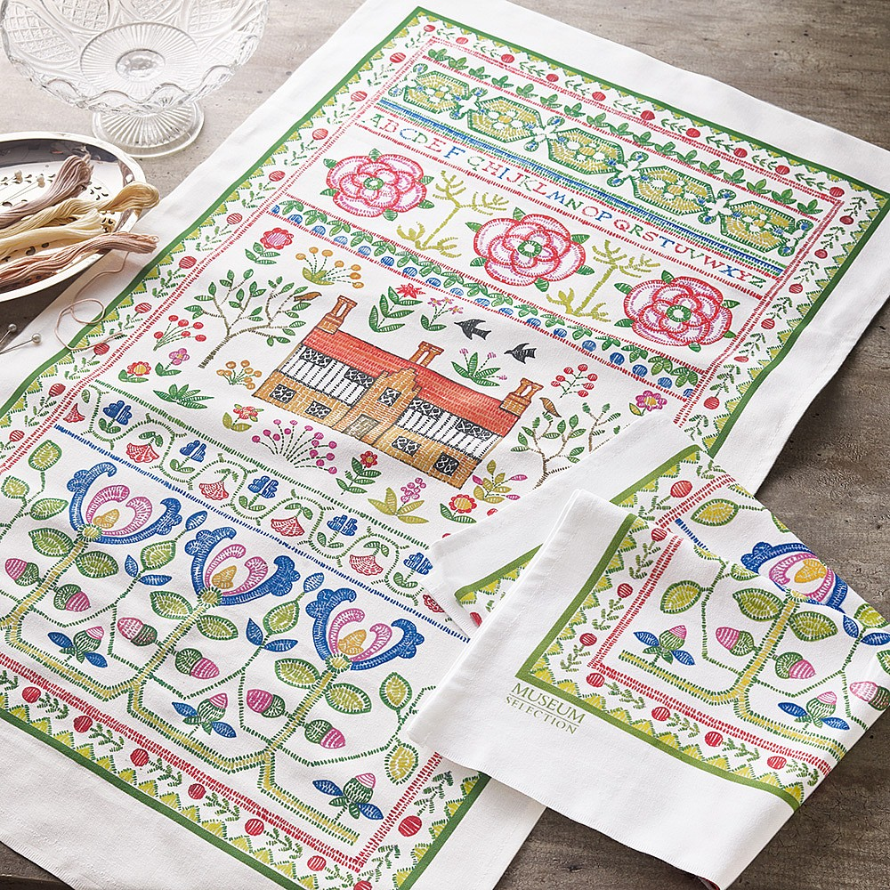 Pair of Sampler Tea Towels