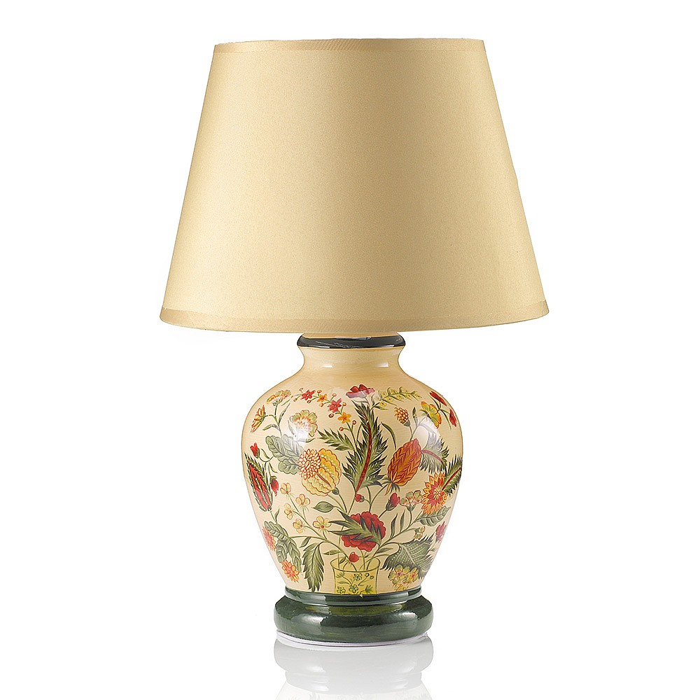 Floral Touch Lamp