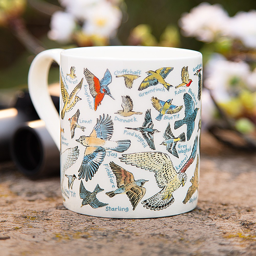 Birds Around The British Isles Mug