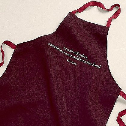 W. C. Fields Cotton Apron