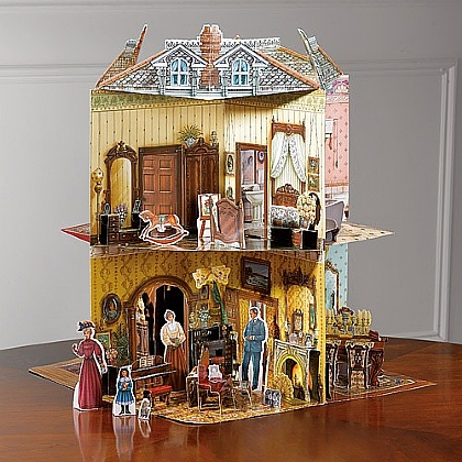 Museum Selection A 3-D Victorian Dolls' House